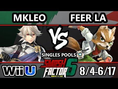 Smash Factor 6 Smash 4 - MKleo (Corrin) vs. Feer LA (fox) - Smash Wii U