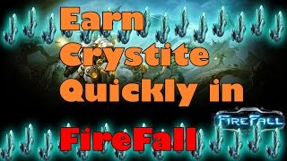 Firefall Mmo - Fastest Way To Earn Crystite - Scan Hammer Tool Tutorial