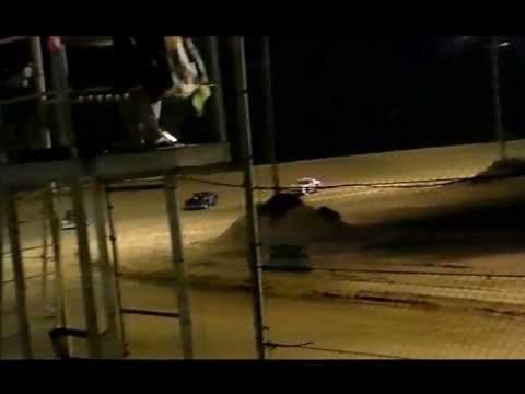 Street Stock Feature Race at Northwest Florida Speedway Oct 26, 2013