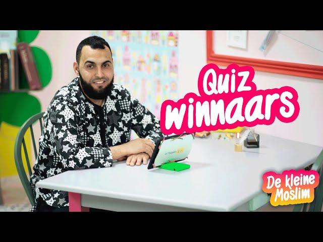 Quiz winnaars | De kleine moslim