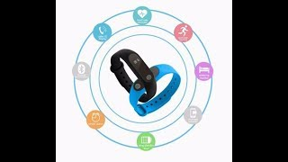 M2 Smart Band Bluetooth Bracelet Heart Rate Monitor Health Fitness Tracker Pedometer for Android IOS