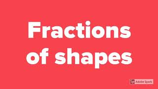 Solving Fractions of a shąded shape Questions