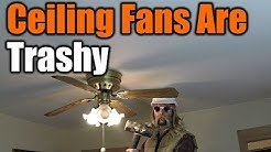 Ceiling Fans Are Trashy You Must Remove Them Now | THE HANDYMAN |