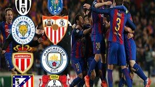 Лига Чемпионов 2016/2017 Чудо от Барселоны!!! Матчи 14.03-15.03 Лестер - Севилья / Монако - Ман Сити