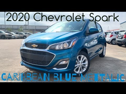 2020 Chevrolet Spark LT: Start-up & Review