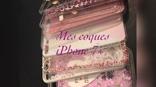 Mes coques iPhone 7+