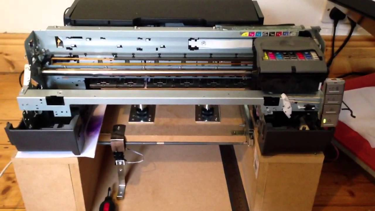 Epson R1800 Dtg Diy Project