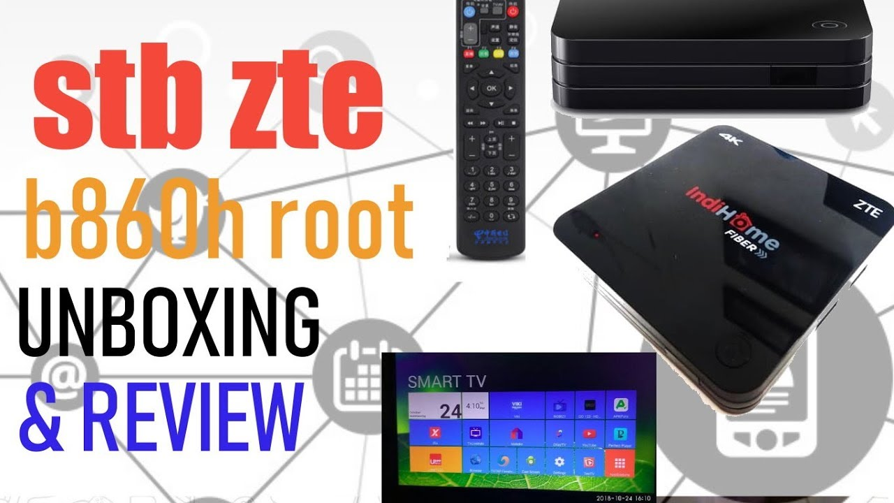 Android Box ZTE Indihome Unboxing