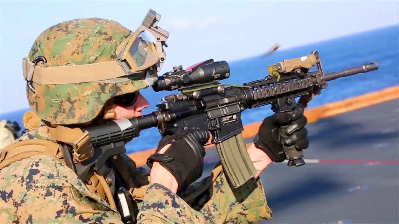 Marines Combat Marksmanship - YouTube