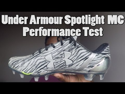 Under Armour Spotlight Football Cleats Performance Test