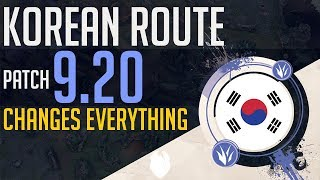NEW KOREAN ROUTE CHANGES EVERYTHING PATCH 9.20 | Skill Capped