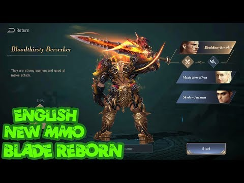 Best Graphic  BLADE REBORN android NEW MMORPG in 2018 download