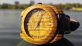 деревянные наручные часы wewood купить - YouTube