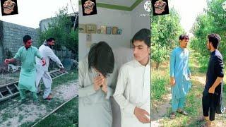 New pashto funny tiktok video javid zada and manjan mama hadi funny tiktok video
