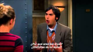 Скачать TBBT 7x08 Raj I Love You Penny What Is Wrong With You Sub Español