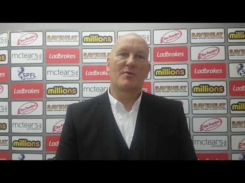 Jim Duffy: Edinburgh City post-match reaction