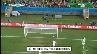 Video Nigeria vs Bosnia 1- 0 Peter Odemwingie's Goal World Cup 2014 download MP3, 3GP, MP4, WEBM, AVI, FLV Desember 2017