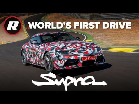 World's First Drive Of The New Toyota Supra On Road And Track | A90 MKV