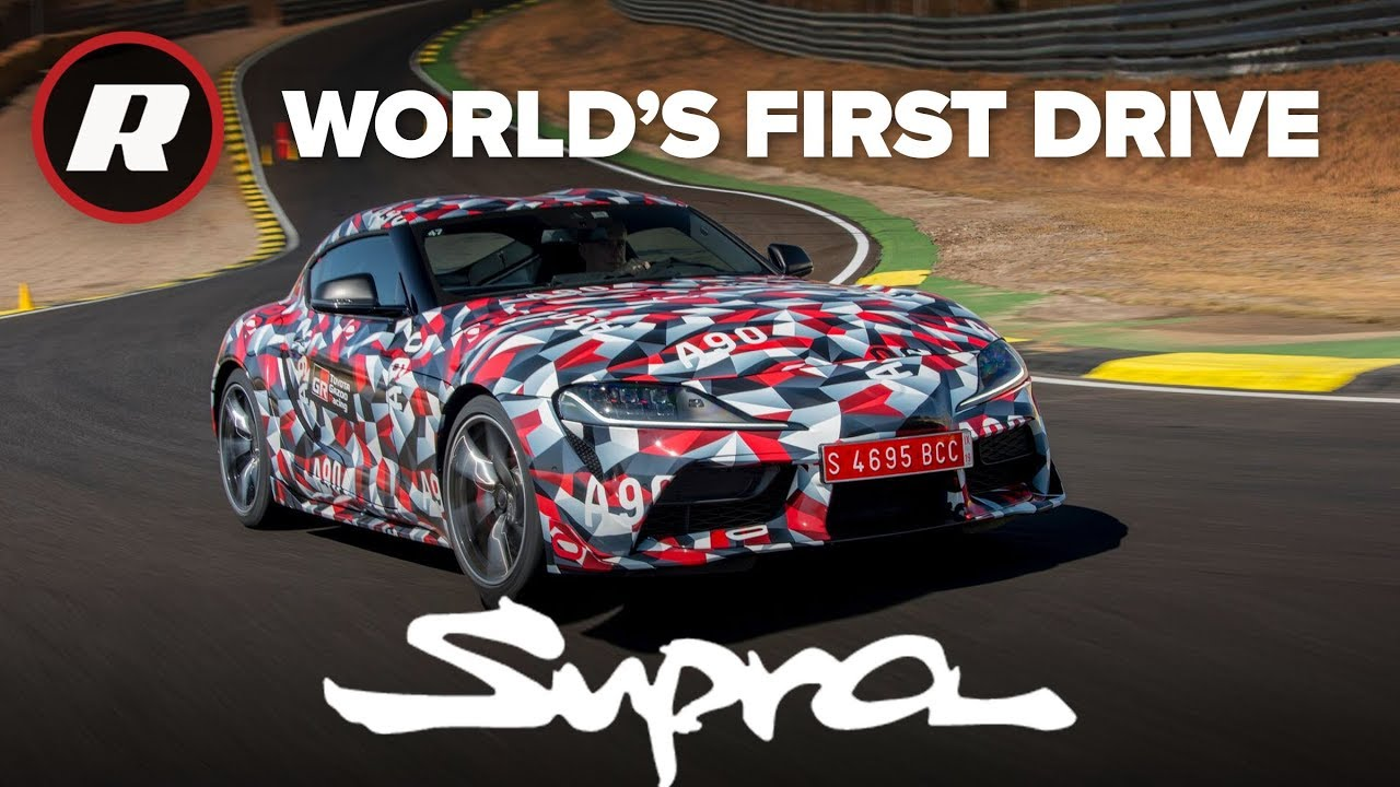 World's first drive of the new Toyota Supra on road and track   A90 MKV