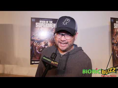 Sam Liu Interview at Reign of the Supermen World Premiere Mp3