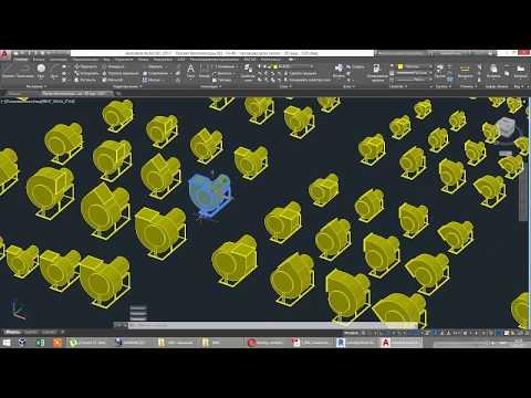 3D модели - Вентилятор ВЦ 14-46
