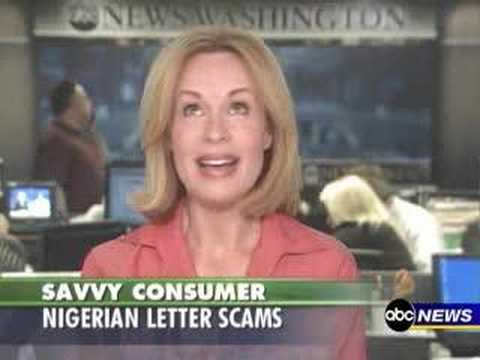 Savvy Consumer Nigerian Letter Scam