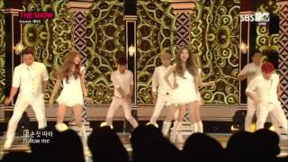 [1080p HD] 140923 SBS MTV The Show SNSD TaeTiSeo -  Whisper+Holler
