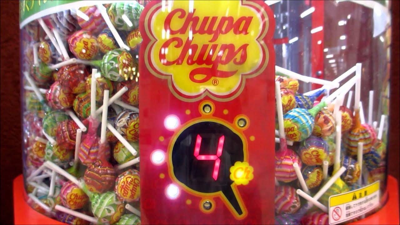 チュッパチャップス 自動販売機 Chupachups Candy Vending Machine Japan