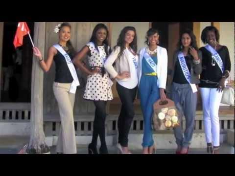 "Miss Haiti ""Miss International 2012"" Vlog (Day 4 Visits The Okinawa Prefectural Museum)"
