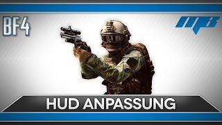 Battlefield 4 HUD Anpassung und wie es funktioniert (BF4 CTE Gameplay/GameDoku)