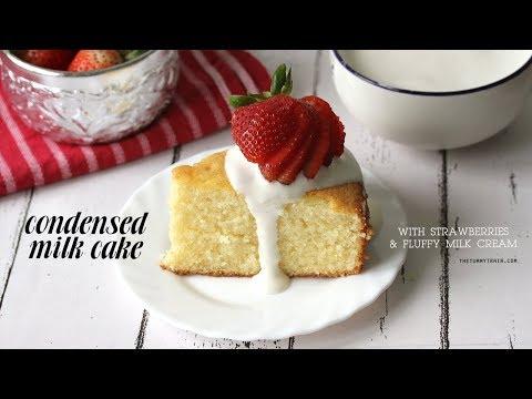 Condensed Milk Cake With Fluffy Evap Cream RECIPE (feat. Alaska Milk) | The Tummy Train