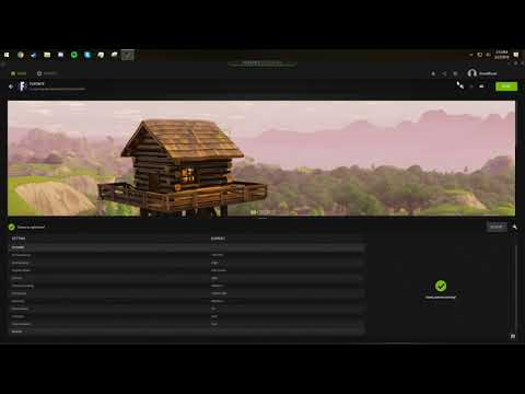 How to Highlight (record) your Kills and Deaths in fortnite using GeForce Experience