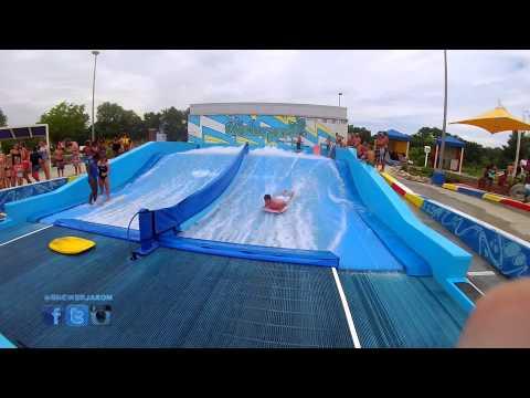 Carmel Indiana Waterpark - FlowRider Boogie Board - Indianapolis, Indiana