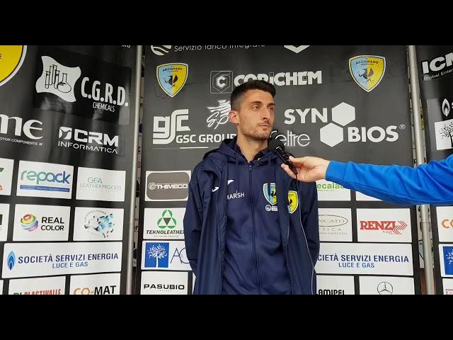 CALCIO - Daniele Forte analizza la partita dai 2 volti dell'Arzignano Valchiampo e la bella reazione