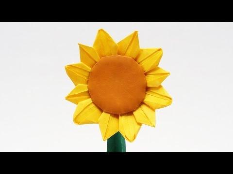 Jo Origami Preview Origami Sunflower 04 Mar 2017 Tv
