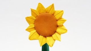 preview origami sunflower jo nakashima time lapse