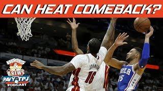 Can Miami Bring Series to 3-2? | Hoops N Brews