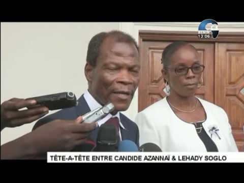 Canal 3 Benin @131129 28MAI2017 Visite du Candide Azannaï à LVS