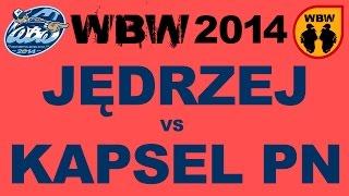 Bitwa jĘdrzej vs kapsel pn # wbw 2014 gdańsk # freestyle battle