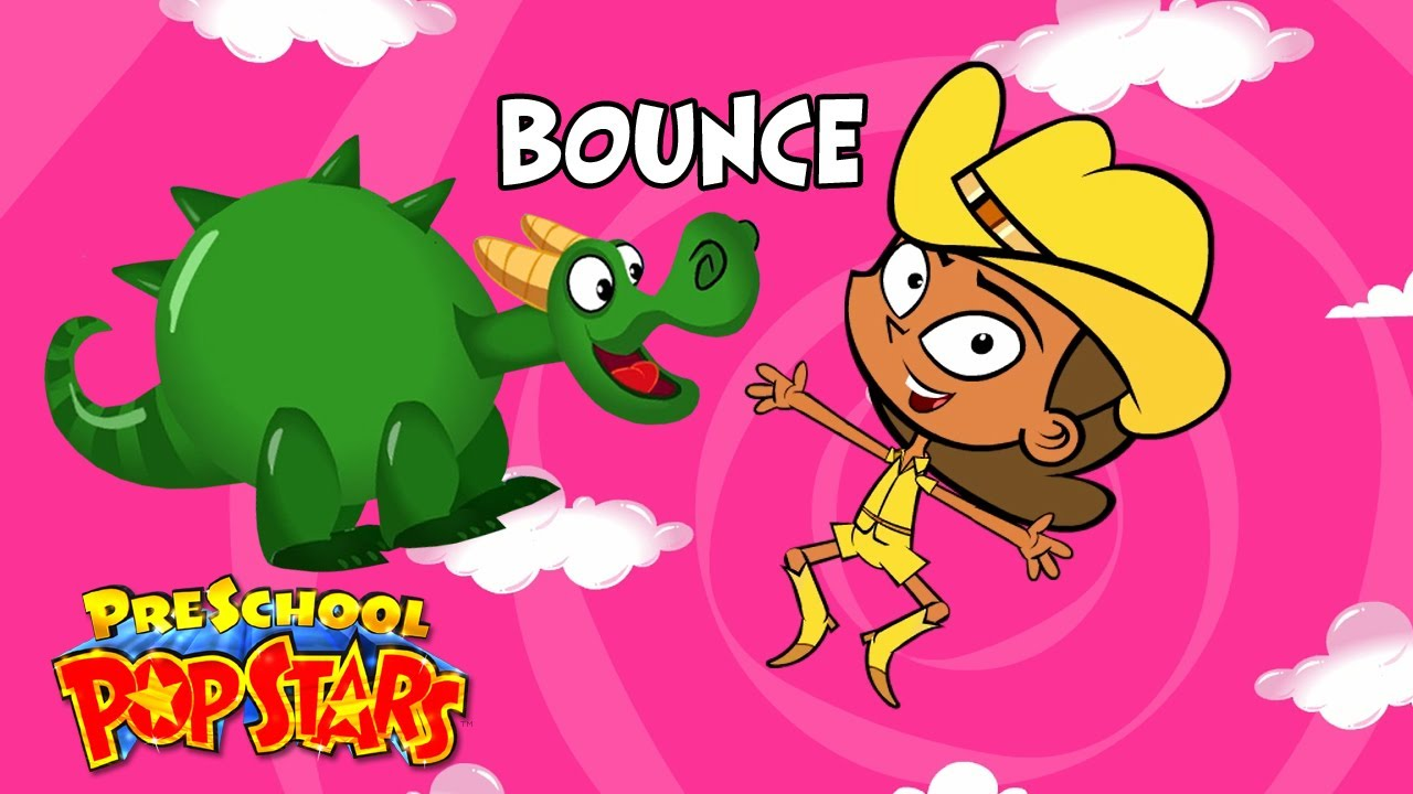 Kids Songs Bounce Funny Cartoon Children S Music Video By