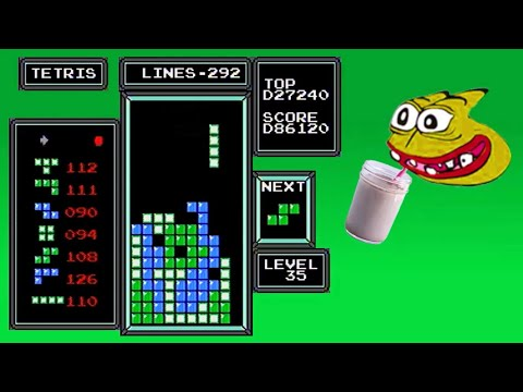 Download NES Tetris - First Ever Recorded 1.4 Million