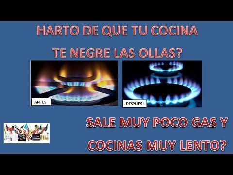 Reparar fogones de cocina a gas reparar cocina de gas butano limpiar chicles cocina a gas - Fogones a gas ...