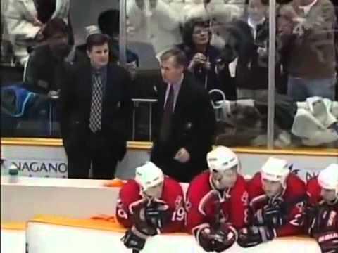 Czech Republic - Canada OLYMPICS 1998 semifinal shotouts