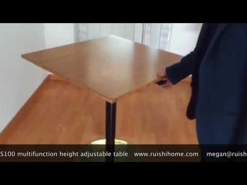 RS100 Gas Lifting Height Adjustable Table User Demo