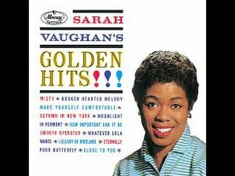 Sarah Vaughan's - Moonlight in Vermont / Golden Hits -Mercury1961