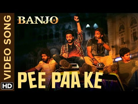 Pee Paa Ke Official Video Song Banjo Riteish Deshmukh Dharmesh Yelande