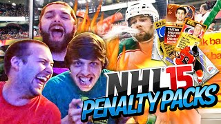 NHL 15 Penalty Packs Challenge! #1 - AIR SOFT BUTT HOLE (Crazy Challenges)