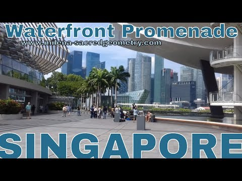 MARINA BAY, Waterfront Promenade - Singapore