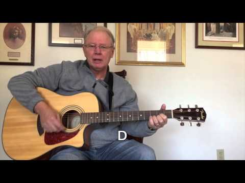 "Strum ""Blowing in the Wind"" Guitar Chords"