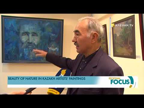 The exhibition by famous Kazakh artist Khamza Kikimov was held in Almaty